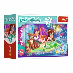 Puzzle 54 Mini Enchantimals Trefl 19617