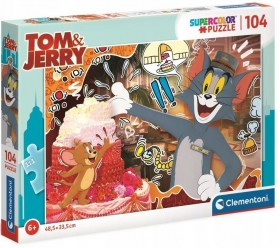 Puzzle 104 el. Tom & Jerry Clementoni